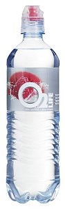 Foto O2 water redfruit/cranberry