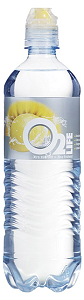 Foto O2 water lemon/grapefruit